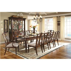 Kincaid Furniture Moonlight Bay 12 Piece Formal Dining Room Group