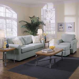 Klaussner Brighton Stationary Living Room Group