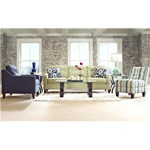 Klaussner Audrina Stationary Living Room Group