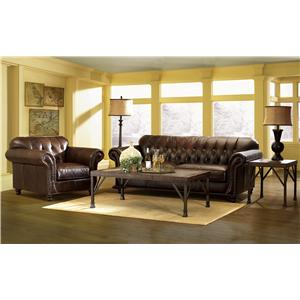 Klaussner Chester Stationary Living Room Group