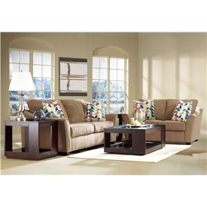 Klaussner Linville Stationary Living Room Group