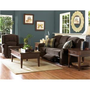 Belfort Basics Macon Classic Reclining Sofa