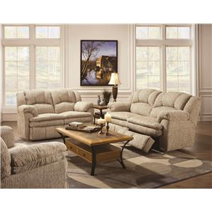 Lane Cameron Casual Double Reclining Sofa