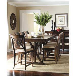 Casual Dining Room Group Formal By Legacy Classic  Wolf And Gardiner