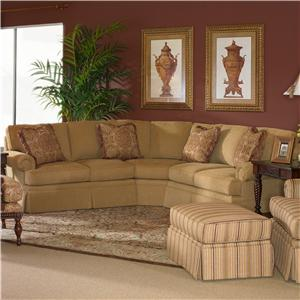 Lexington Lexington Upholstery Sebastian Two-Sided Settee