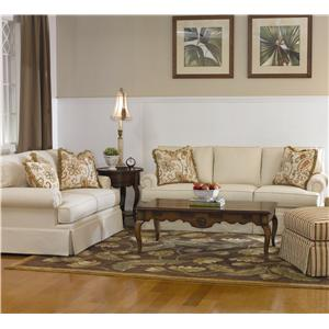 Lexington Lexington Upholstery Edwards Upholstered Ottoman