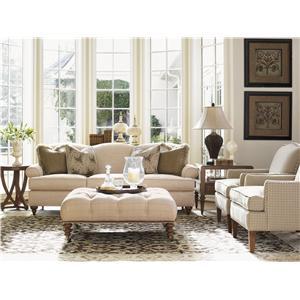 Lexington Quail Hollow Stationary Living Room Group