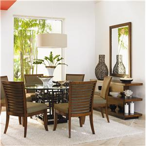 Tommy Bahama Home Ocean Club Casual Dining Room Group
