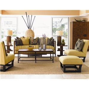 Tommy Bahama Home Ocean Club Stationary Living Room Group