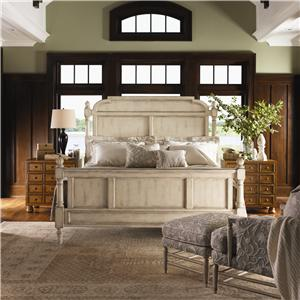Lexington Twilight Bay King-Size Hathaway Panel Bed