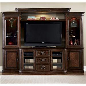 Liberty Furniture Andalusia 2-Door 3-Drawer TV Entertainment Console