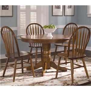 Liberty Furniture Nostalgia  5-Piece Round Pub Table Set