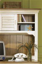 Storage Shelves U0026 Doors On Student Desk Hutch.