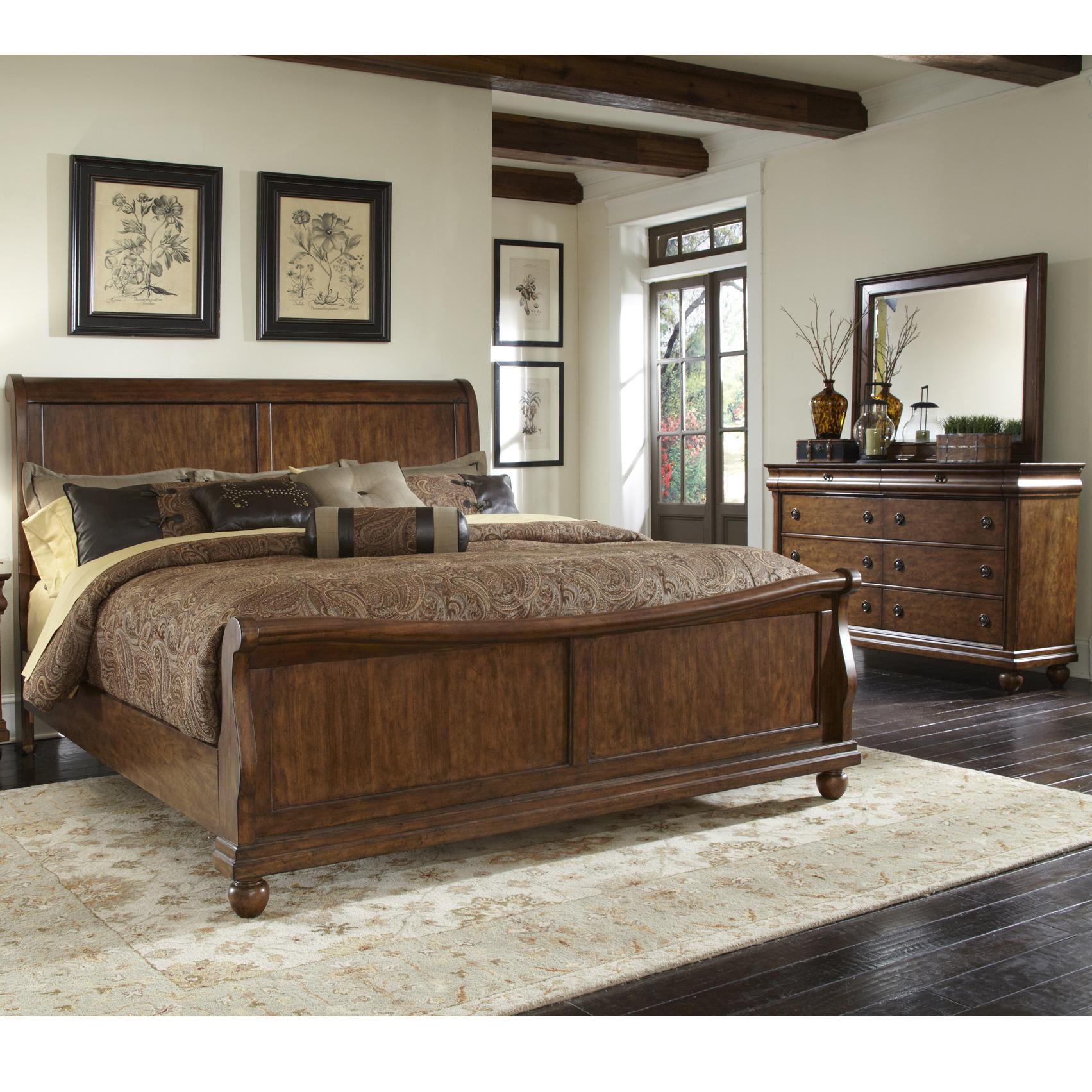 Queen Bedroom Group 1 By Liberty Furniture Wolf And