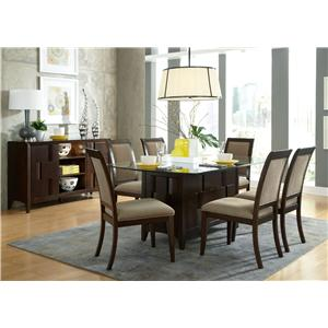 Liberty Furniture Saxton Casual Dining Room Group