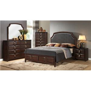 Lifestyle Charlie Queen Bedroom Group