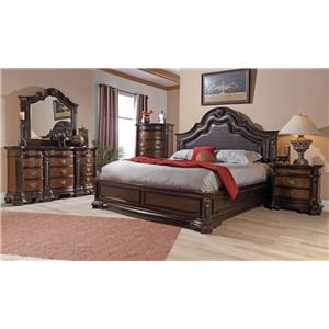 Lifestyle 4258A Queen Bedroom Group