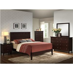Lifestyle 5125 King Bedroom Group