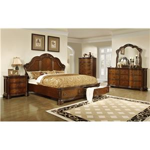 Lifestyle 5390A Queen Bedroom Group