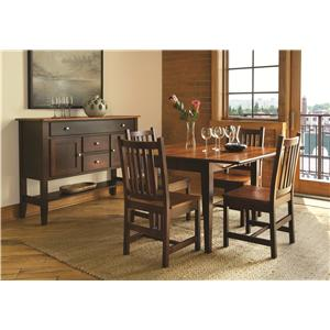 American Amish Saber Casual Dining Room Group