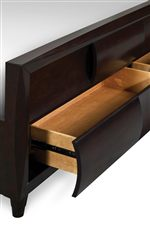 Footboard Storage Drawer Bed Option