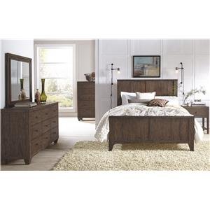 Modus International McKenzie King Bedroom Group