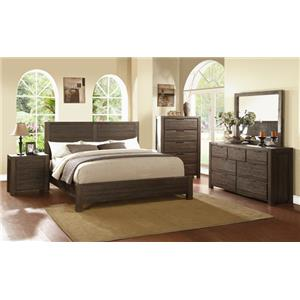 Modus International Portland Queen Bedroom Group