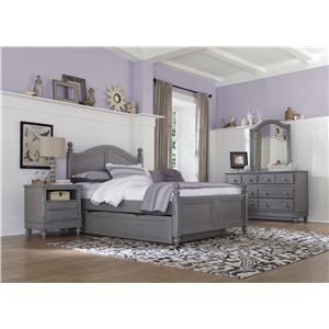 NE Kids Lake House Full Payton Trundle Bed