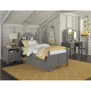 NE Kids Lake House Full Payton Storage Bed