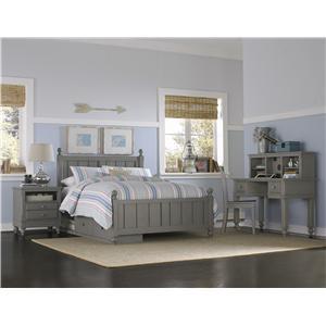 NE Kids Lake House Twin Kennedy Storage Bed