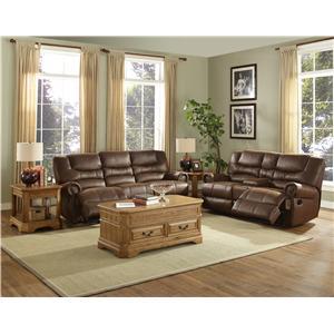 New Classic Laredo Reclining Living Room Group