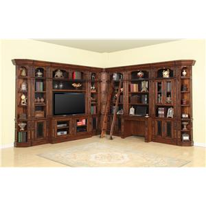 Parker House Leonardo Lateral File and Hutch