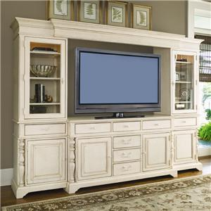 Paula Deen by Universal Paula Deen Home 66-inch Entertainment Console with 6 Drawers