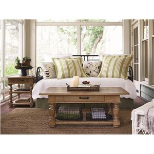Paula Deen by Universal Down Home Twin Bedroom Group