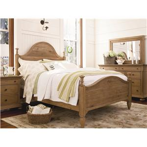 Paula Deen by Universal Down Home Queen Bedroom Group
