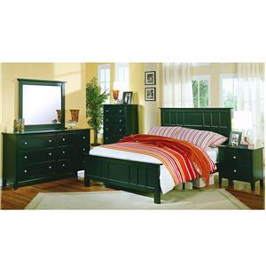 Private Reserve Millie (black) King Bedroom Group