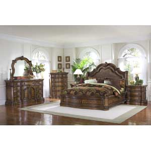 Pulaski Furniture San Mateo King Bedroom Group