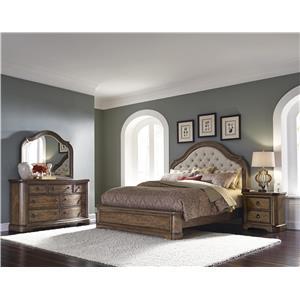Pulaski Furniture Aurora Queen Bedroom Group