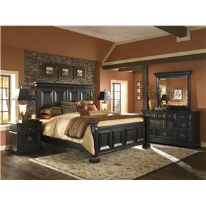 Pulaski Furniture Brookfield Queen Bedroom Group
