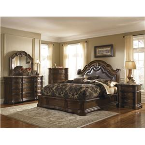 Pulaski Furniture Courtland  King Bedroom Group