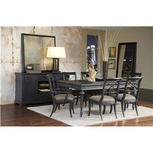 Pulaski Furniture Vintage Tempo Formal Dining Room Group