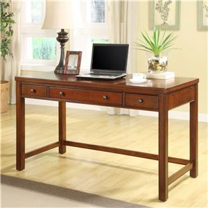 Riverside Furniture Avenue Laptop Desk with Rollout Keyboard Drawer