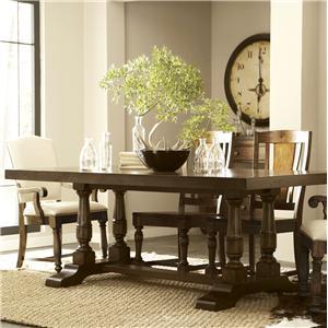 Riverside Furniture Newburgh Server with 5 Drawers