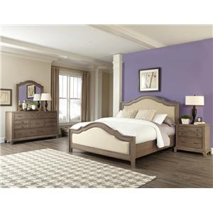 Riverside Furniture Windhaven Queen Bedroom Group