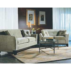 Rowe Berkeley Contemporary Queen Sleeper Sofa