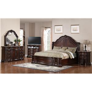 Samuel Lawrence Edington Queen Bedroom Group