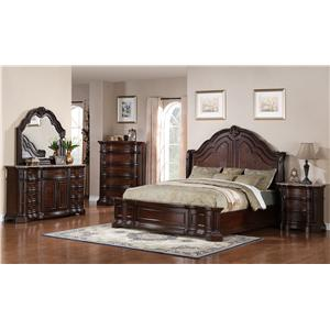 Samuel Lawrence Edington California King Bedroom Group