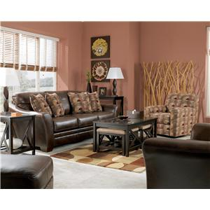 Signature Design by Ashley Del Rio DuraBlend - Sedona Stationary Living Room Group