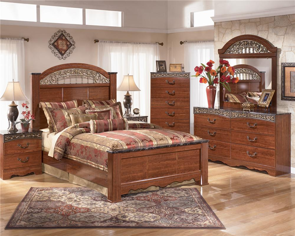Queen Bedroom Group by Signature Design by Ashley | Wolf ...