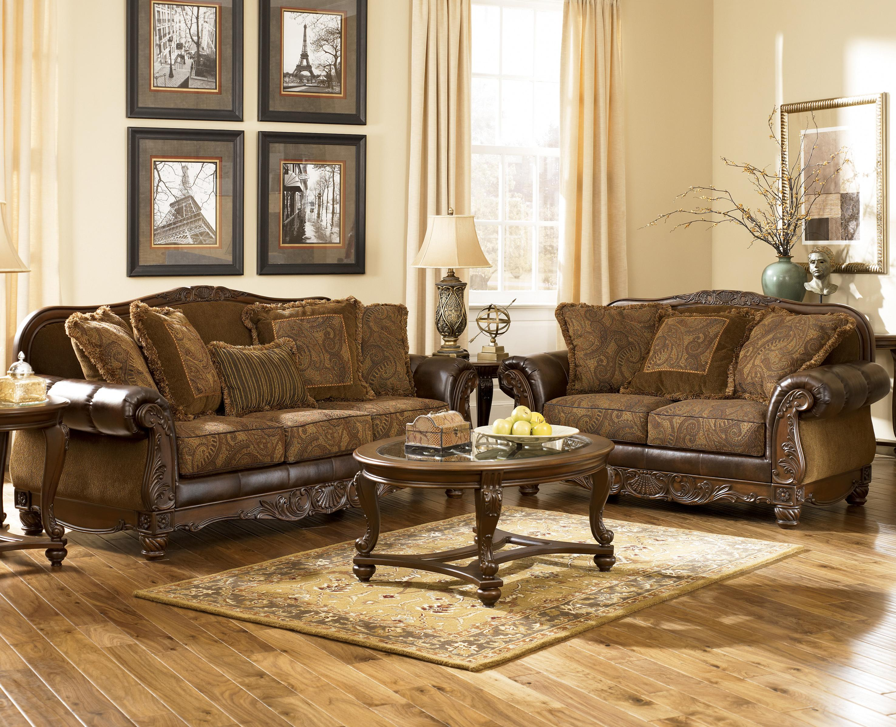 Magnificent Stationary Living Room Group By Signature Design By Ashley Home Interior And Landscaping Eliaenasavecom